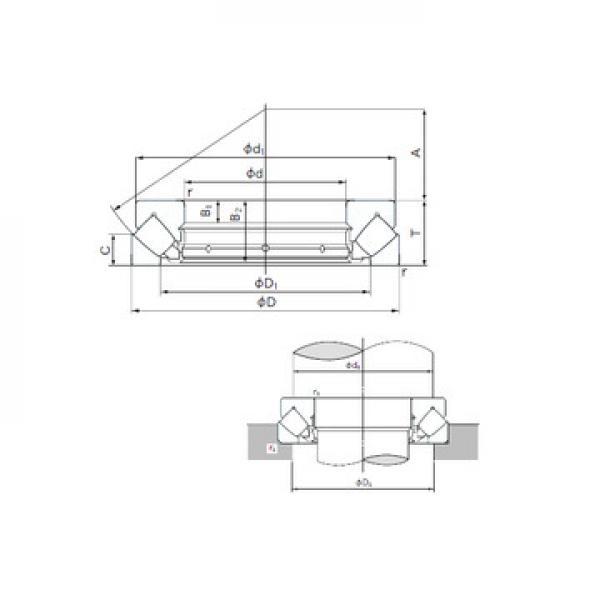 AXK 5070 SKF فحوى الرول محامل