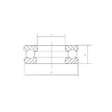 51330M CRAFT Thrust Ball Bearings